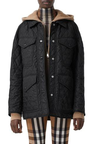 WOMEN Burberry Kemble Thermoregulated Quilted Jacket