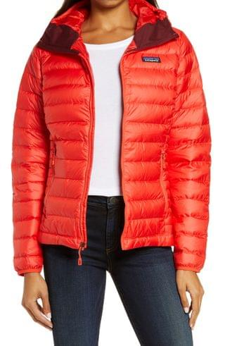 WOMEN Patagonia Quilted Water Resistant Down Coat
