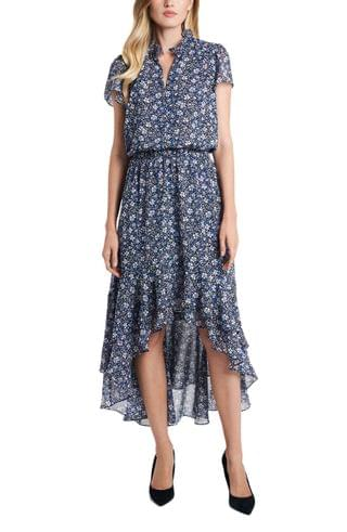 WOMEN 1.STATE Chateau Floral High/Low Dress