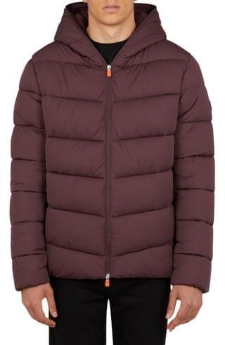 MEN Save The Duck Seal Hooded Puffer Coat