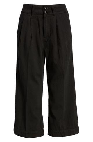WOMEN PAIGE Clarice Pleated Culotte Pants