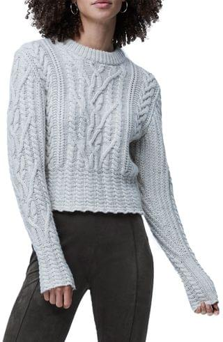 WOMEN French Connection Joetta Cable Knit Sweater
