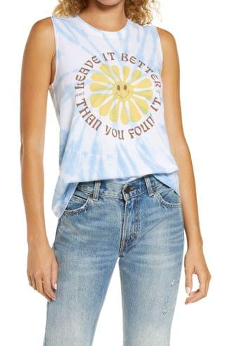 WOMEN Park Project Leave It Better Than You Found Out Tie-Dye Graphic Cotton Tee