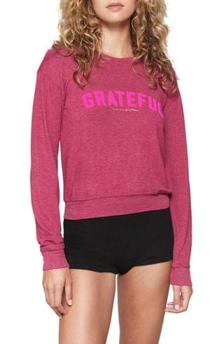 WOMEN Spiritual Gangster Grateful Savasana Sweatshirt