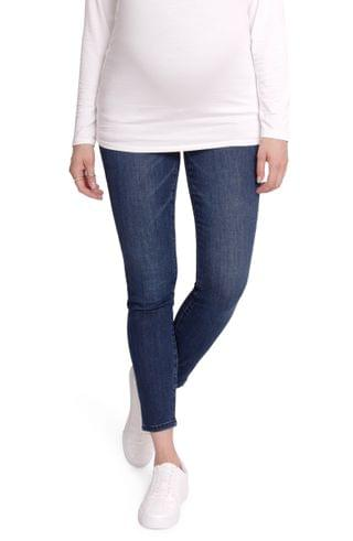 WOMEN Ingrid & Isabel Crossover Panel Maternity Skinny Jeans