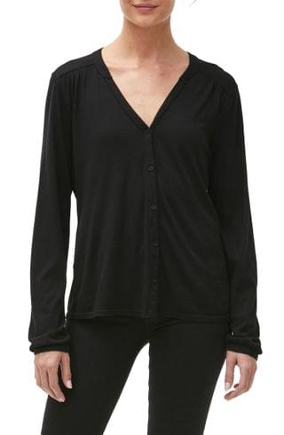 WOMEN Michael Stars Mason Button-Up Top