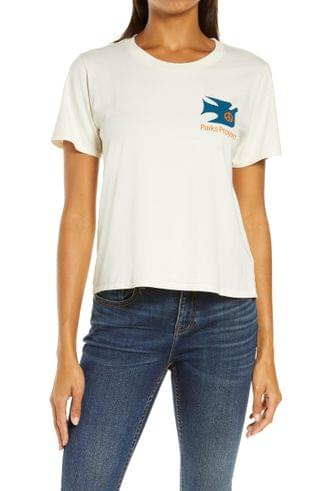 WOMEN Parks Project Have A Heart Protect Out Parks Cotton Graphic Tee
