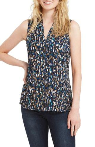 WOMEN NIC+ZOE Falling Fern Sleeveless Top