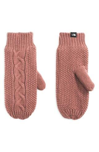 WOMEN The North Face Minna Cable Knit Mittens