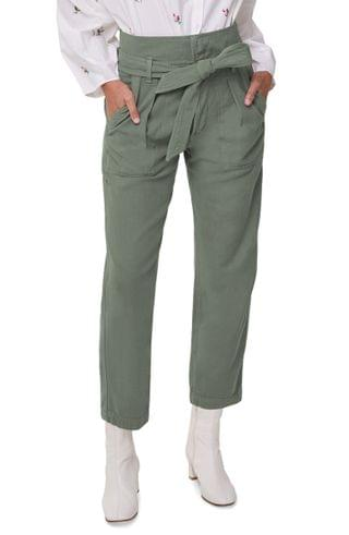 WOMEN Citizens of Humanity Noelle Belted Cotton Cargo Pants