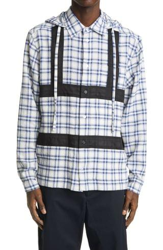 MEN Craig Green Hooded Harness Button-Up Shirt