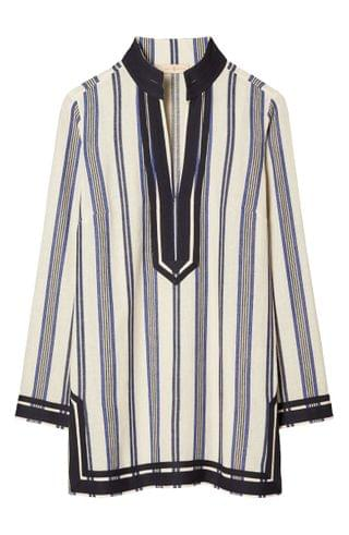 WOMEN Tory Burch Stripe Beach Tunic