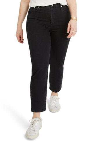 WOMEN Madewell Classic Straight Jeans (Lunar Wash) (Plus Size)