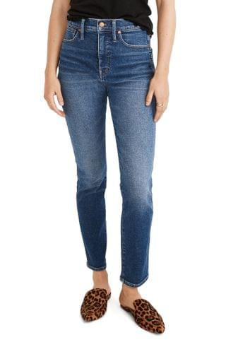 WOMEN Madewell Stovepipe Jeans (Manchester Wash)