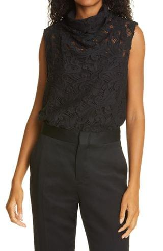 WOMEN Rachel Comey Sheridan Cotton Blend Lace Top
