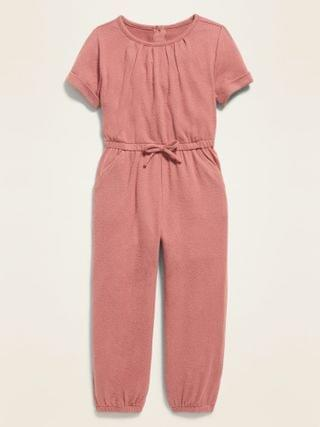 KIDS Short-Sleeve Jumpsuit for Toddler Girls