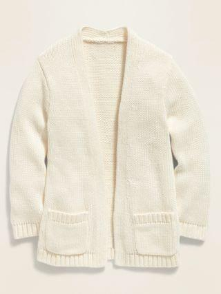 KIDS Open-Front Cardigan Sweater for Toddler Girls