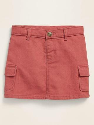 KIDS Cargo-Pocket Skirt for Toddler Girls