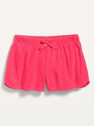 KIDS Micro Fleece Pajama Shorts for Girls