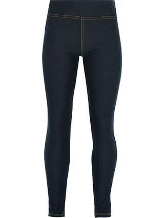 KIDS blue denim look leggings