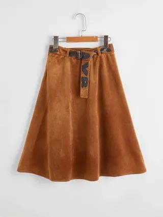 KIDS Self Belted Skirt
