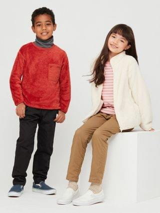 KIDS stretch warm-lined pants (online exclusive)