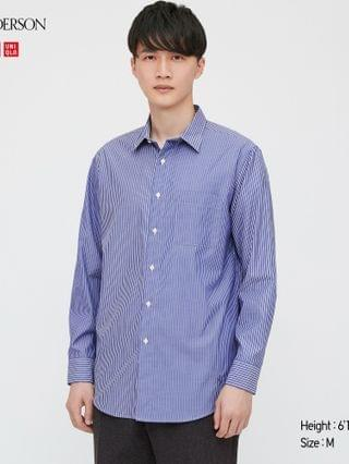 MEN men easy care striped long-sleeve shirt (JW Anderson)