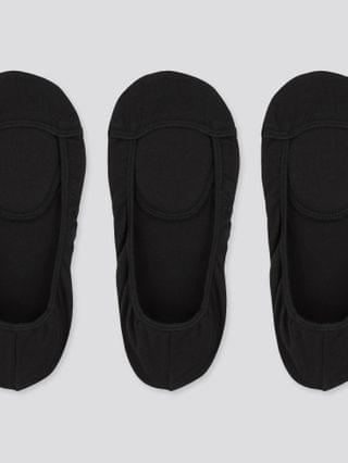 WOMEN square-cut footsies (3 pairs) (online exclusive)