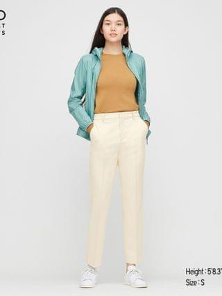 WOMEN smart 2-way stretch solid ankle pants (tall) (online exclusive)