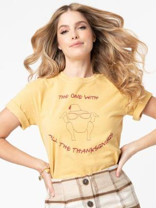 WOMEN The One With All The Thanksgivings Unisex Tee