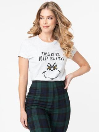 WOMEN This Is As Jolly As I Get Unisex Tee