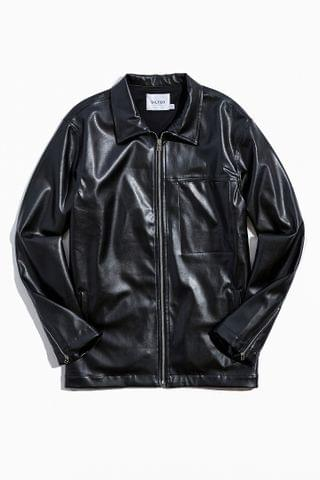 MEN The Silted Company Sinner Eco Leather Jacket
