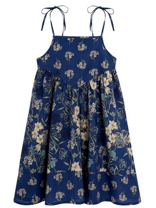 KIDS Girls Cotton Dress Botanicals