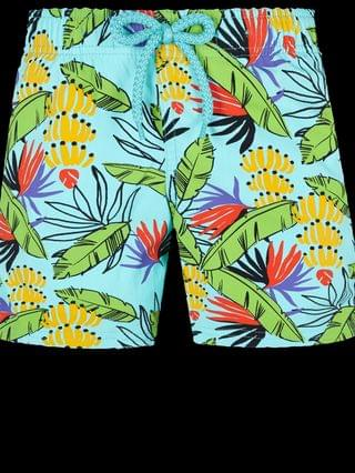 KIDS Swim Trunks Stretch Go Bananas