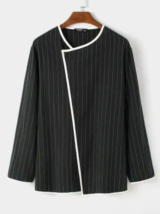 WOMEN Men Casual Comfortable Fall Striped Cardigan