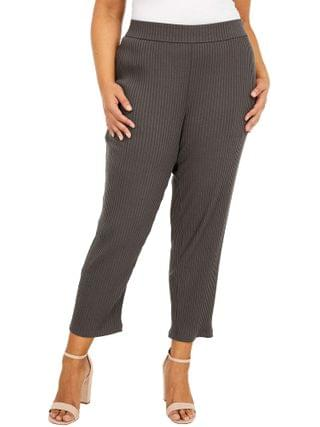 WOMEN Eileen Fisher - Plus Size Tapered Ankle Pants