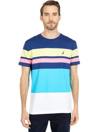 MEN Nautica - Short Sleeve Fashion Stripe Tee