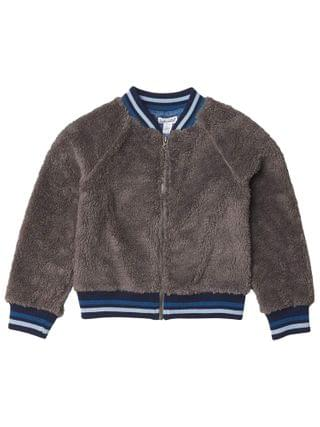 KIDS Splendid Littles - Sherpa Bomber Jacket (Toddler/Little Kids/Big Kids)