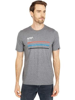 MEN Alpha Industries - Nasa Line Tee