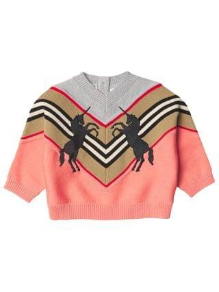 KIDS Burberry Kids - Nadie Unicorn Knitwear (Infant/Toddler)