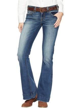 WOMEN Rock and Roll Cowgirl - Trouser Jeans in Dark Vintage W8-7683