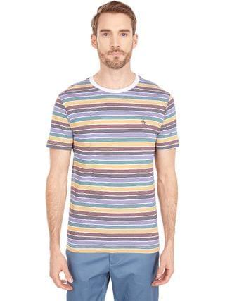 MEN Original Penguin - Multi Stripe Fashion Tee