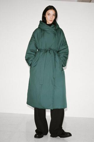 WOMEN WATER REPELLENT PUFFER COAT