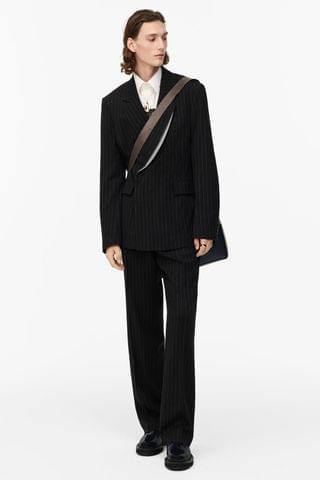 MEN STRIPED SUIT TROUSERS - LIMITED EDITION