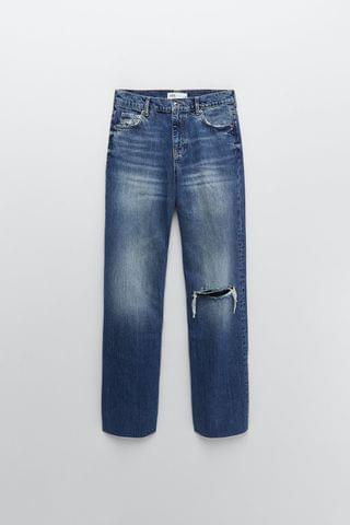 WOMEN ZW PREMIUM 90S FULL LENGTH JEANS IN FALL BLUE