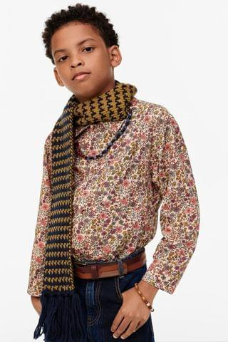 KIDS LIMITED EDITION FLORAL PRINT SHIRT