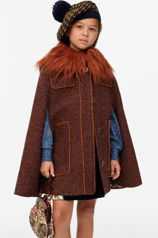 KIDS FAUX FUR COLLAR LIMITED EDITION