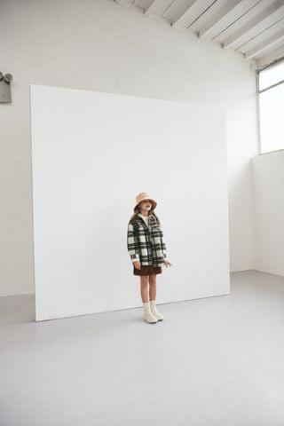 KIDS PLAID OVERSHIRT