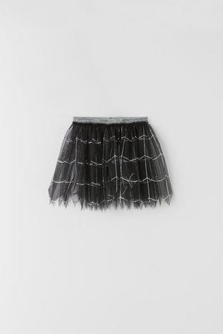 KIDS TULLE SPIDER SKIRT