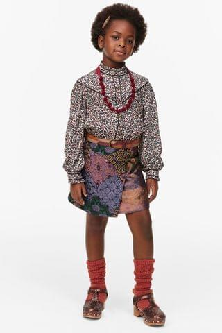 KIDS LIMITED EDITION JACQUARD SKIRT